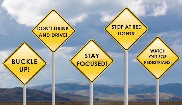 inform the public in road safety